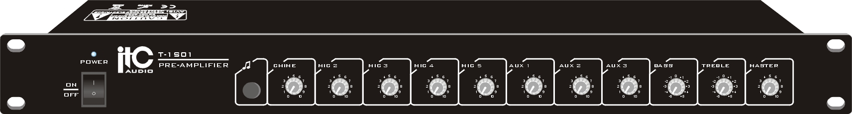 Bộ tiền khuếch đại ( Mixer Pre-amplifier) ITC T-1S01